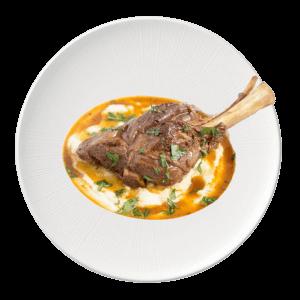 Lamb Shank Roganjosh - Maya Restaurant