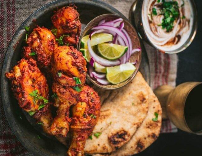 Tandoori Spring Chicken